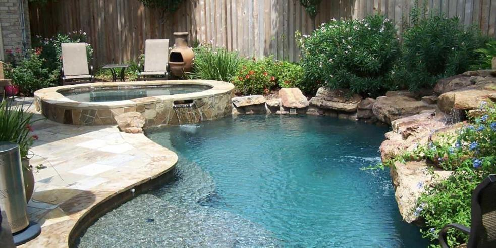 Pool Design and Construction | 3D Pools and Landscape Katy ...