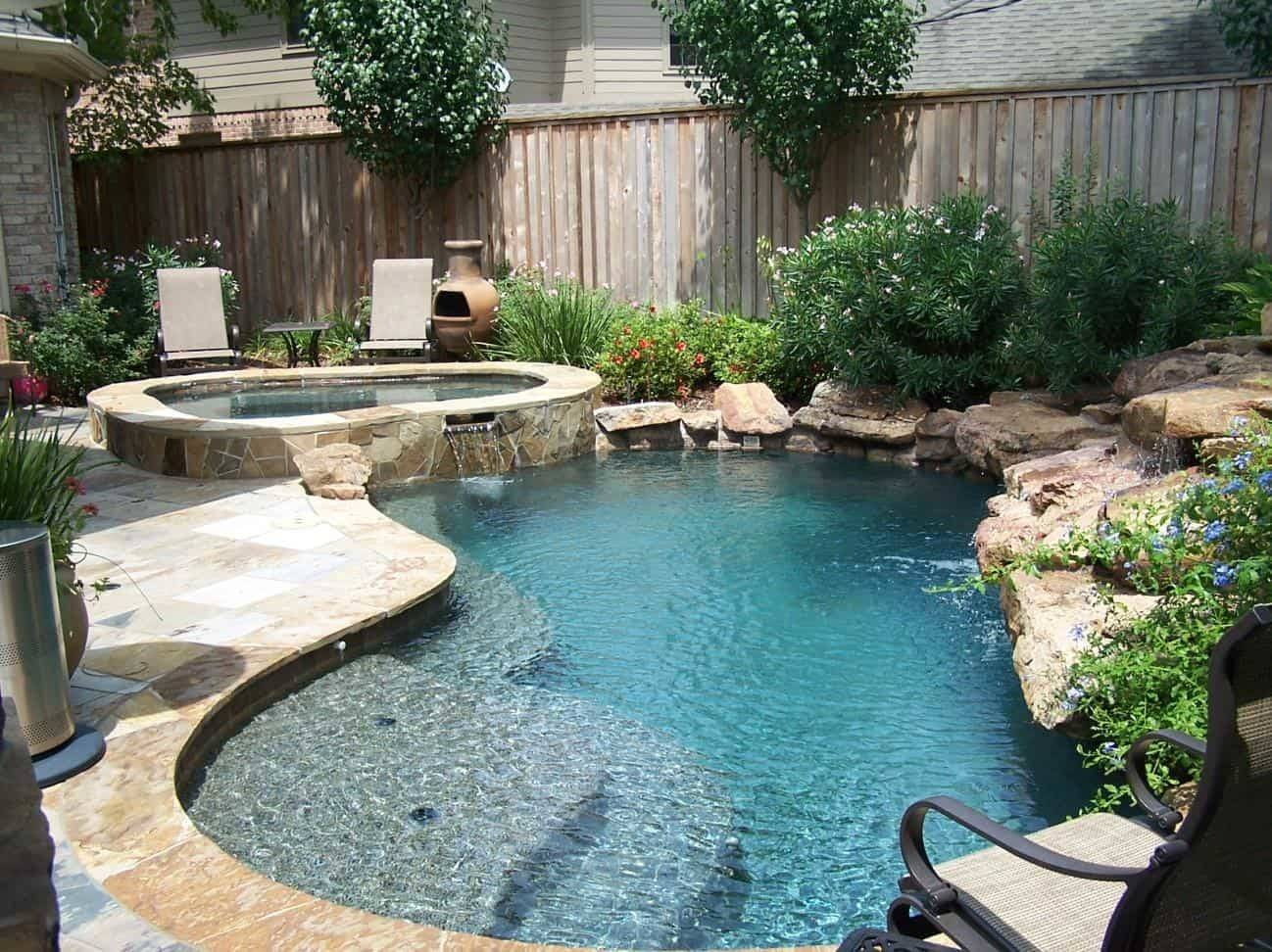 Pool Landscape Design | 3D Pools and Landscape Katy | Houston